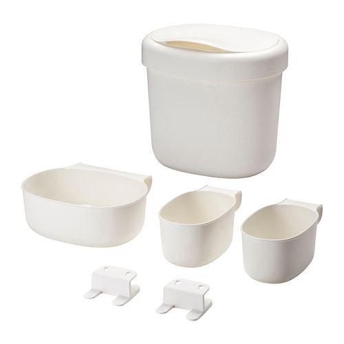 ÖNSKLIG - Behälter 4er-Set, weiß