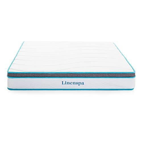 Linenspa Hybrid Federkernmatratze mit...