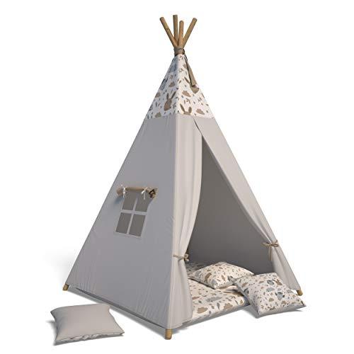 Best For Kids Spielzelt Tipi Zelt Indianer Wigwam...