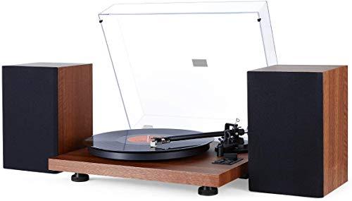 1 BY ONE Schallplattenspieler Bluetooth...