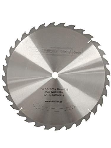 HM Kreissägeblatt 500mm 30 mm Bohrung mit 32...