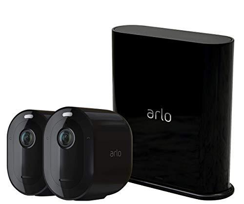 Arlo Pro3 WLAN Überwachungskamera aussen, 2K UHD,...