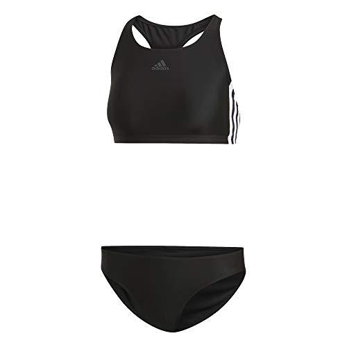 adidas Damen FIT 2PC 3S Swimsuit, Black, 52