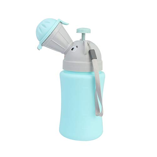 NUOBESTY Kinder Urinal Flasche Urinflasche Notfall...