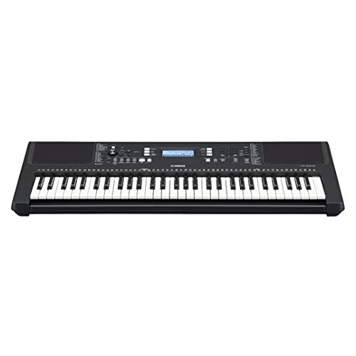 Yamaha PSR-E373 Digital Keyboard, schwarz –...