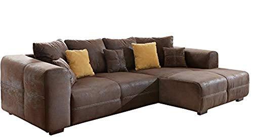 Cavadore Ecksofa Mavericco / Polster Eck-Couch mit...