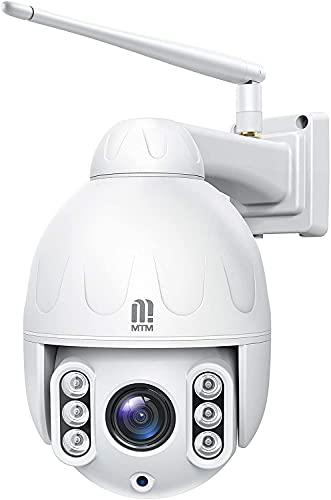 5MP PTZ WiFi Überwachungskamera Aussen, MTM IP...