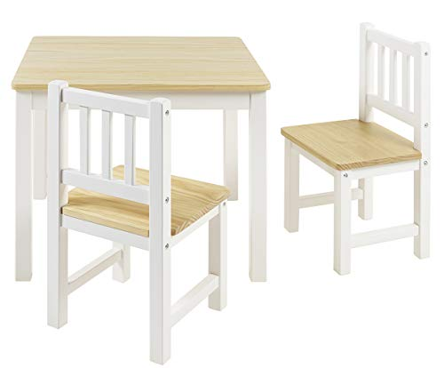 BOMI Stabile Kindersitzgruppe Amy 2 Stühle u....