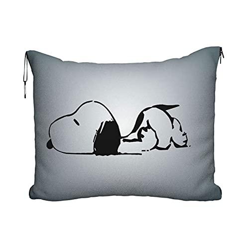 Anime Cartoon Snoopy Reisekissen Decke Tragbare...