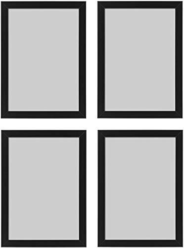 Ikea Fiskbo Bilderrahmen, A4, 21 x 30 cm, schwarz,...