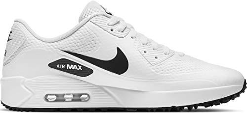 Nike Herren Air Max 90g Golfschuh, Weiß/Schwarz,...