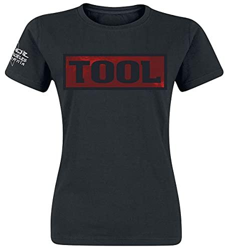 T-Shirt # L Ladies Black # Shaded Box