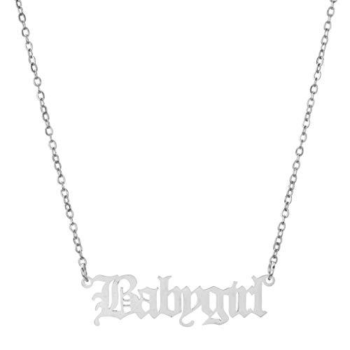 Garispace Babygirl Halskette Einfache stilvolle...