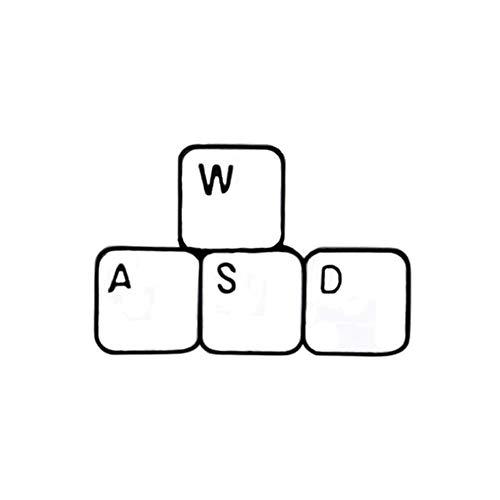 Lustige Brosche Wasd Tastaturspiele Emaille Pin...