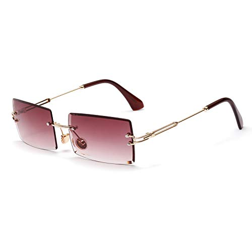 SHEEN KELLY Square Ultra-Small Frame Sonnenbrille...