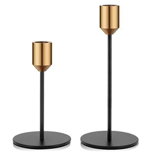 Kerzenständer 2er Set Kerzenhalter Metall...