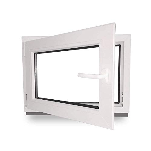 Kellerfenster - Kunststoff - Fenster - innen...