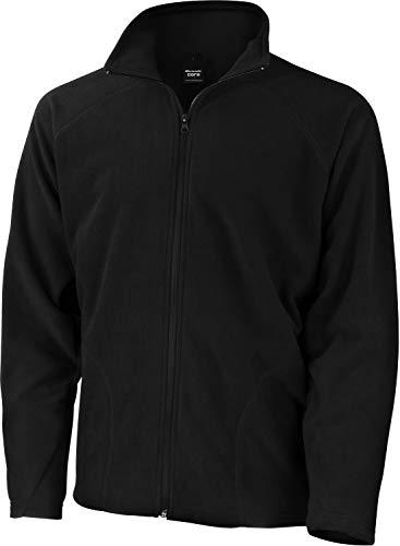 Micron Fleece-Jacke, Farbe:Black;Größe:L L,Black