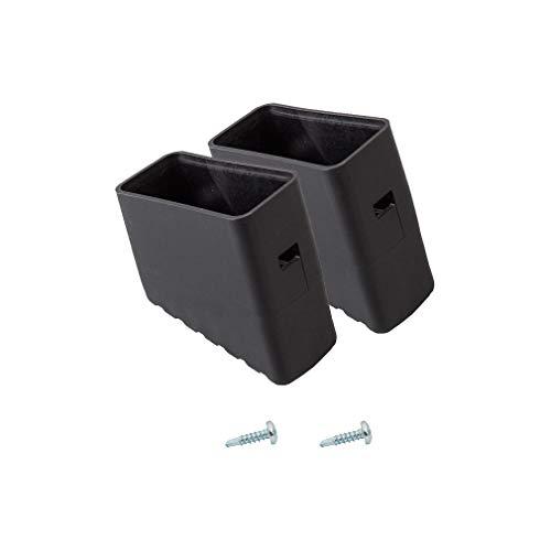 Krause Leiterfüße schwarz 40x20 mm