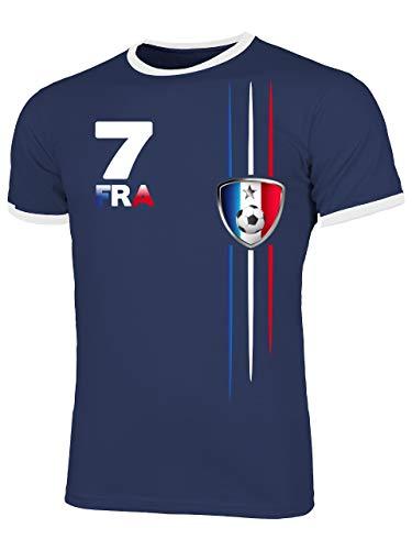 Frankreich France Fanshirt Fussball Fußball...