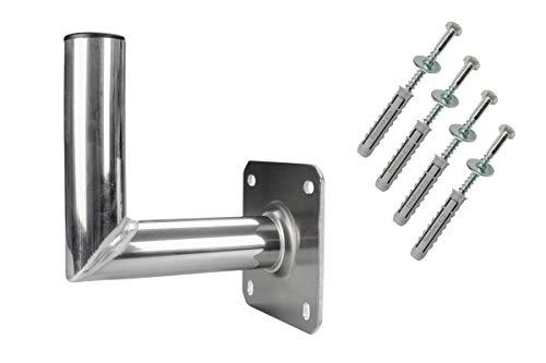 GALLUNOPTIMAL Aluminium Wandhalter 20 cm INKL...