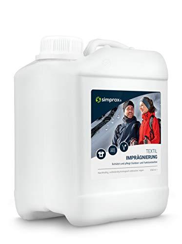 simprax® Textil Imprägnierung - 2,5 Liter...