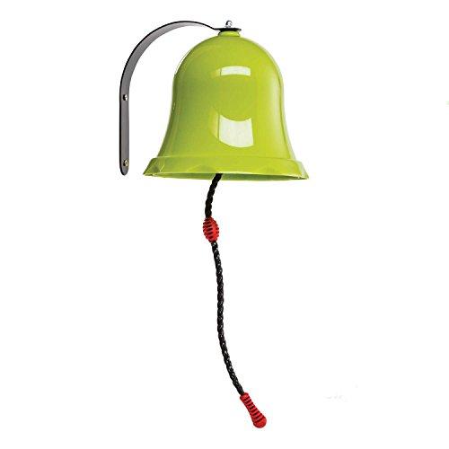 Gartenpirat Glocke apfelgrün aus PP/ Metall für...