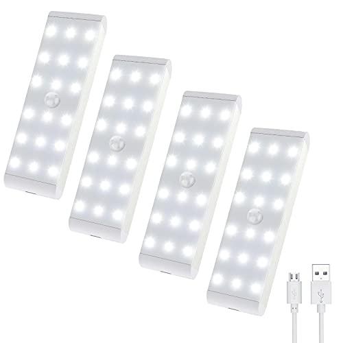 Uooser LED Schrankbeleuchtung mit Bewegungsmelder...