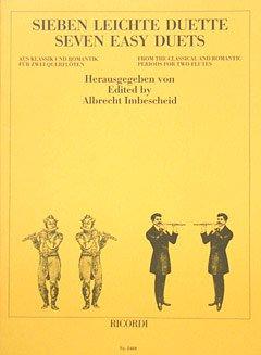 Musikverlag Ricordi & Co 7 LEICHTE DUETTE -...