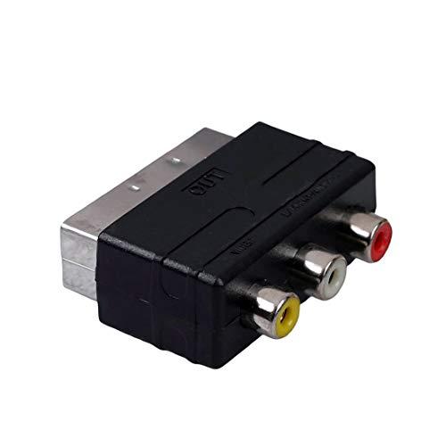 PSBasics Scart Adapter | Audio Video Cinch zu...