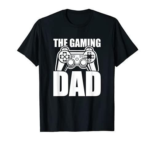 Herren The Gaming Dad Game Controller Spruch...