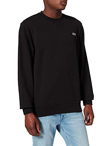 Lacoste Herren SH1505 Sweatshirt, Schwarz, 7 FR /...