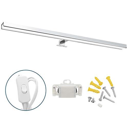 Hengda LED Spiegelleuchte mit Schalter Bad 12W...