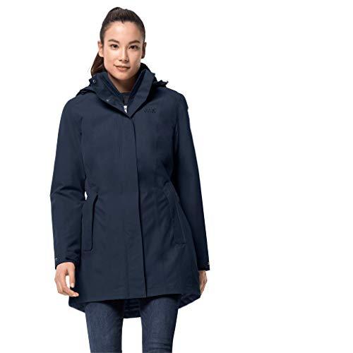 Jack Wolfskin Damen Madison Avenue Coat Mantel,...