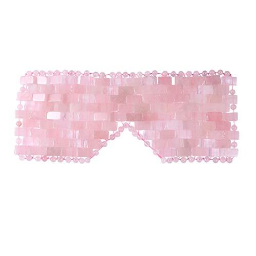 EXCEART Natürliche Jade Schlafmaske Anti-Aging...