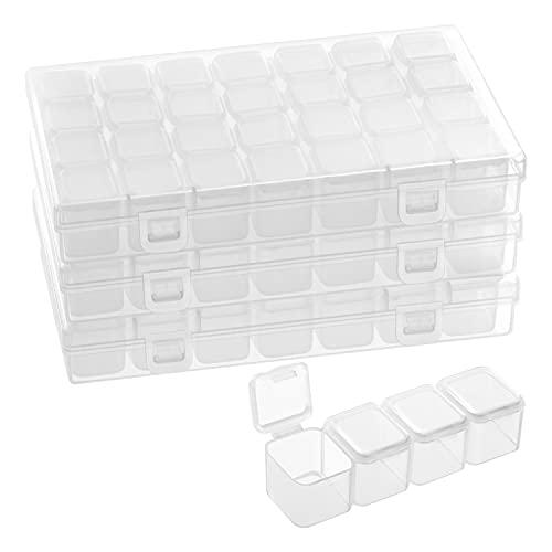 Belle Vous Kunststoff Sortierboxen für Kleinteile...