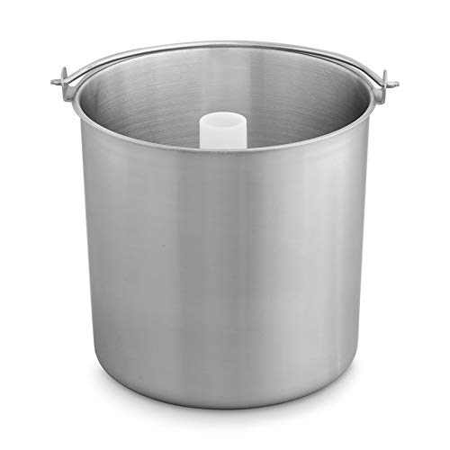 Edelstahl Eisbehälter für Eismaschine,...