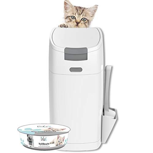 Littycat Katzenstreu Entsorgungseimer mit Schaufel...