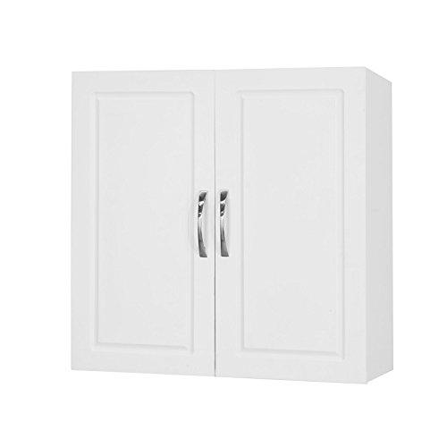 SoBuy® FRG231-W Hängeschrank mit Zwei Türen...
