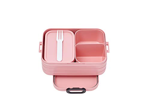 Mepal Bento-Lunchbox Take A Break Nordic pink midi...