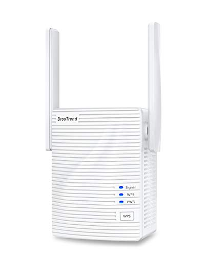 BrosTrend 1200 Mbit/s WLAN Repeater WLAN...