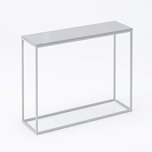 LUK Furniture Konsole MODERN Hochglanz Weiß und...