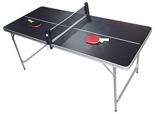 PingPong-Classics Klappbare Tischtennisplatte,...
