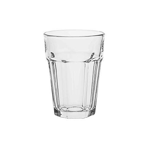 AmazonCommercial Allzweck-Trinkglas, 372,6ml,...