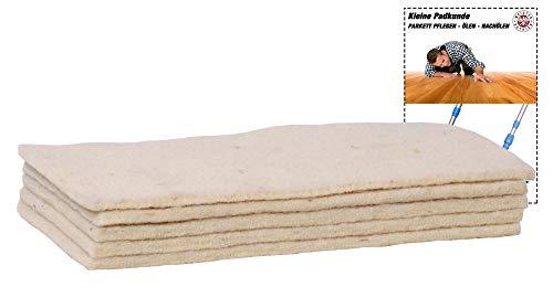 Soft-Sheep- 5x Schafwollpad Polierpads - Parkett...