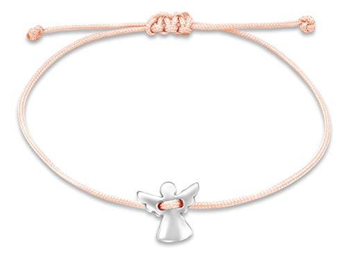 Nuoli® Schutzengel Armband Damen Silber...
