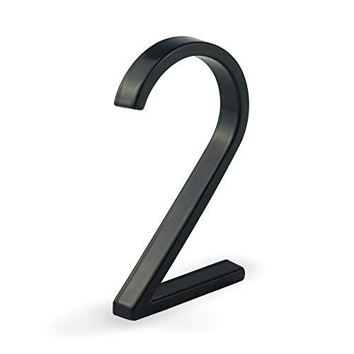 HASWARE 5 Zoll (12 cm) Moderne Hausnummer,...
