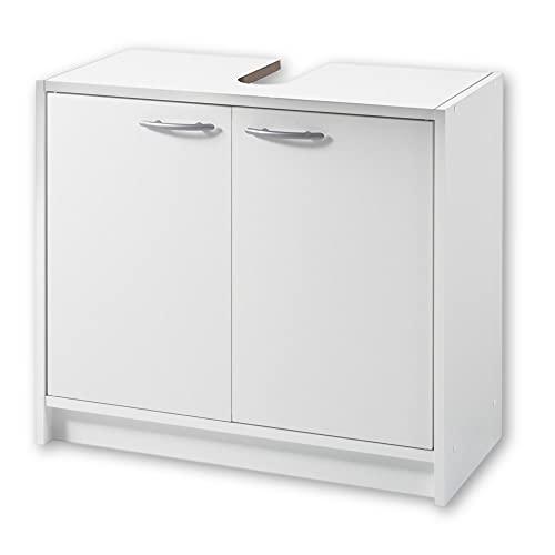 SMASH Badezimmer Waschbeckenunterschrank in Weiß...