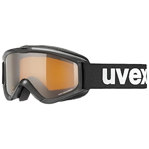 uvex Unisex Jugend, speedy pro Skibrille, black,...