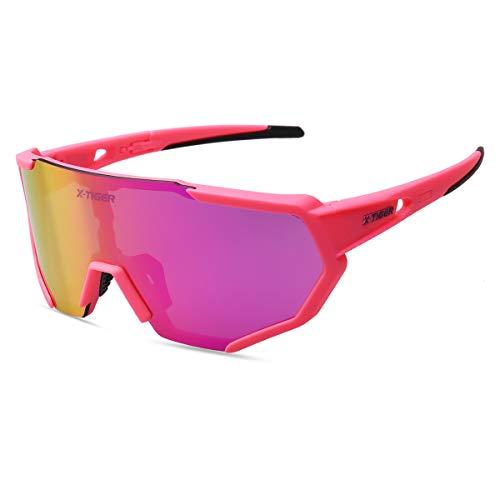 X-TIGER Radbrille Polarized Sonnenbrille Tr90...